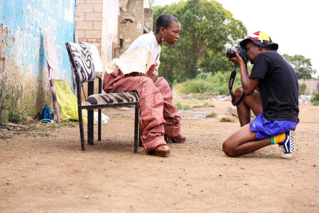 Grace Mokopa and Kabelo Sello, photographed by Day Photo Life
